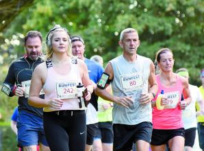 Around 600 people join Windsor & Eton Brewery Runfest