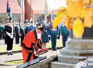 Respects paid at Maidenhead remembrance service
