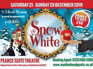 SPONSORED: Snow White at the Magnet Leisure Centre