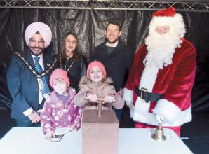 Slough Christmas lights to be switched on tomorrow