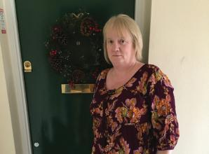 Resident hits out at Radian Housing Group for demanding she removes Christmas wreath