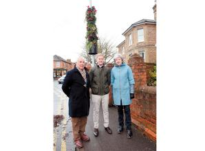 Lamppost transformed into Smart Living Pillar in Twyford