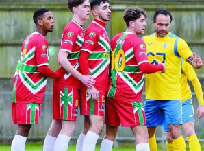 Windsor FC boss Cooper praises the maturity of his young Royalists in Westfields draw