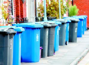 Bin collections to go from weekly to fortnightly