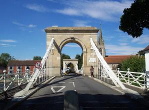Marlow Bridge set for week-long closure for cleaning and repainting