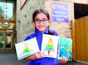 Six-year-old raises nearly a grand for village school in India