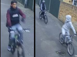 Police release CCTV images in connection with bicycle robbery in Langley