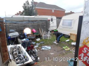 Woman fined for turning Slough garden into illegal scrap metal yard
