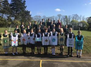 Marlow pupils produce eco bags in aid of town's refugee charity