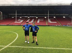 Maidenhead duo complete charity cycle in memory of footballer Gary Speed