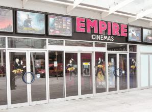 When is Slough's Empire cinema reopening?