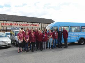 Slough Community Transport and ShopMobility receives £1,000 donation from Louis Baylis Trust