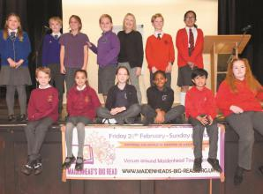 Pupils are poets for a day at Big Write event