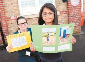 Kind-hearted Slough pupil visits earthquake victims in Pakistan