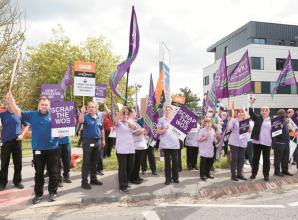 Hospital boss expects 'normal' service despite planned industrial action