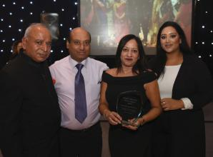 Late Meet and Mingle founder honoured at Slough Voluntary Sector Awards