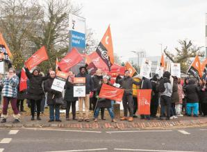 Workers complete 48-hour strike over hospital 'privatisation' plans
