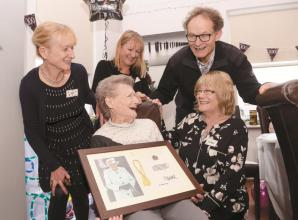 Former West End dancer celebrates 100th birthday in Maidenhead
