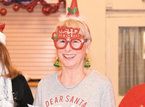 Multiple sclerosis group holds festive lunch at SportsAble