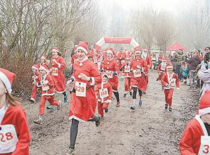 Dinton Pastures to host Santa Dash this Saturday