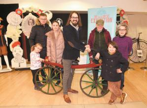 Busy Buttons' Victorian exhibition supported by grant from Louis Baylis Trust
