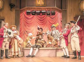 Tumultuous comedy at Theatre Royal Windsor