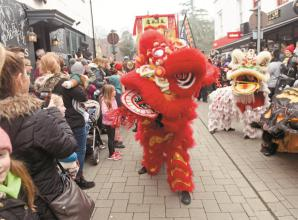 Chinese New Year celebrations light up Maidenhead High Street