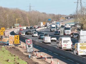 M4 overnight closures planned this week for smart motorway works