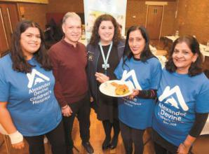 Charity curry night raises £2,000 for children's hospice
