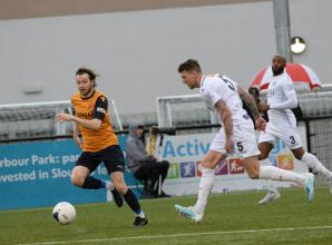 Slough Town held by Hawks in top of the table clash