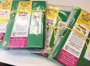 Claires Court book hunt is on ahead of World Book Day