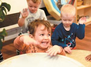 Maidenhead youngsters bang drum for musical education