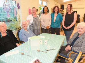 Charity given £1,000 Louis Baylis grant for entertainment and exercise classes