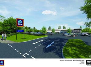 Application for Aldi supermarket faces opposition