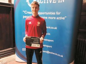 Marlow HC goalkeeper Will Hunter awarded Leap Talented Athlete Bursary