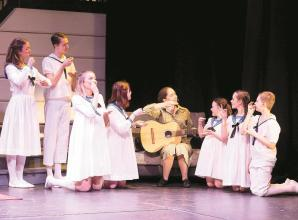 Holyport College students sing the Sound of Music