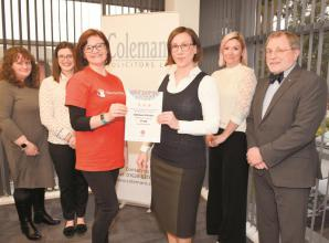 Informing Business: Colemans Solicitors raise money for Will Aid scheme