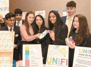 Student entrepreneurs from Burnham create free printable self-isolation activity pack