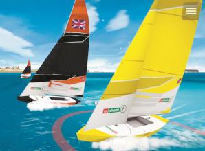 Claires Court School student sailors challenge rivals in virtual races