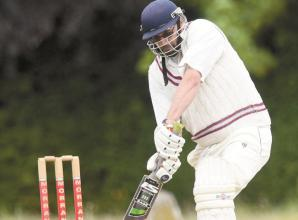 Hurley's Sunday team struggle against Crazies Hill & Cockpole Green on rain-dampened wicket