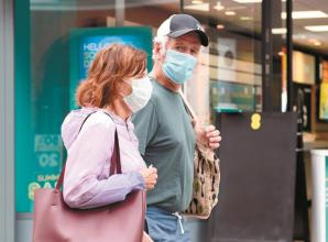 Shoppers 'complying' after week of mandatory face mask rule