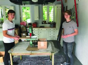 Ascot students launch company selling products made from recycled cork