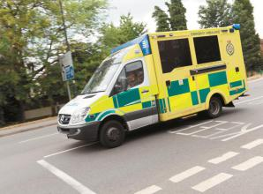 Police and ambulances called to 'a serious medical emergency' on Cookham Road