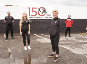 Maidenhead United give fans chance to appear on anniversary plaque
