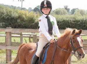 Young horse rider fundraises to repair 'beloved' horse ranger charity after break-in