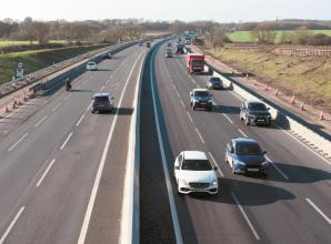 M4 closed this weekend between Junctions 5 and 6