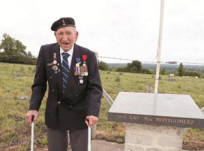 Tributes to brave Normandy veteran following death at 96