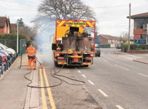 'Totally unnecessary' double yellow lines removed in Furze Platt