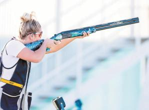 Amber earns Great Britain skeet shooting place at Tokyo Olympics