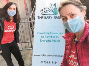 Fitness and good deeds charity seeks help at Baby Bank